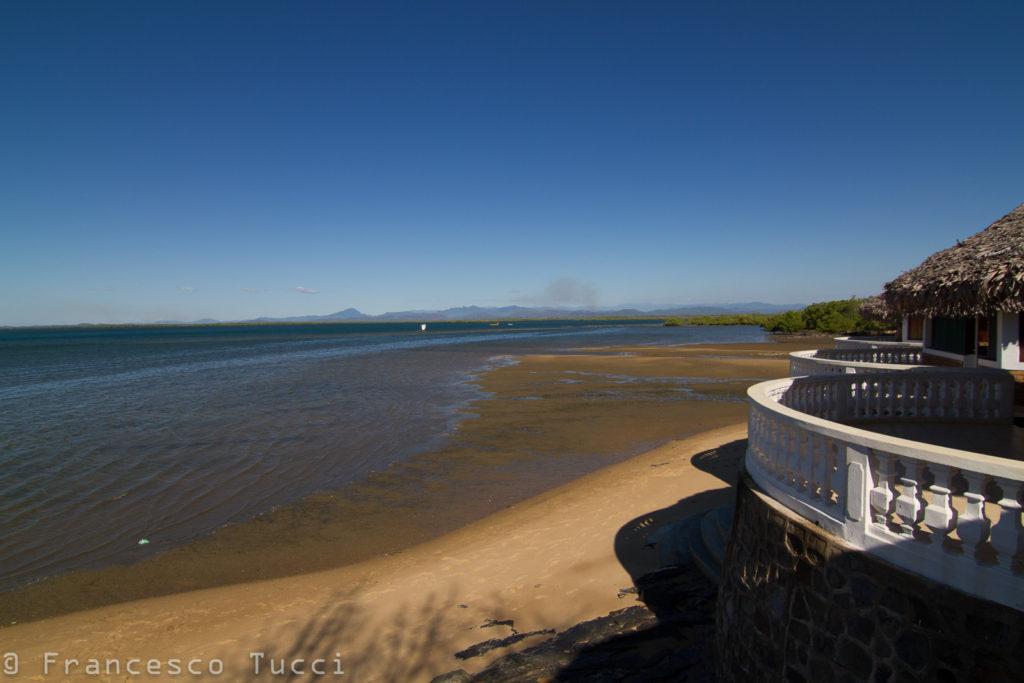 Baobab Lodge e la vista sul mare