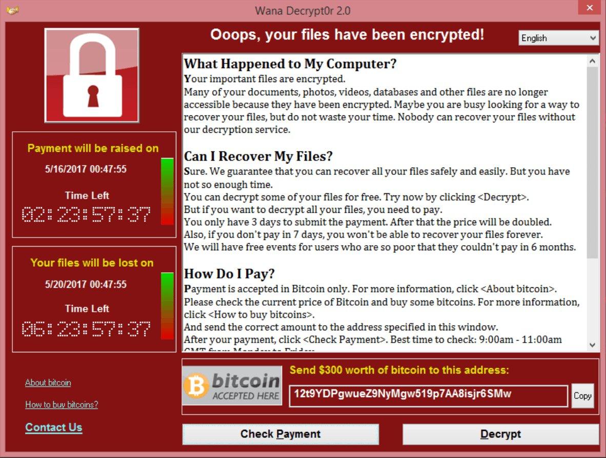 Il ransomware l'NSA e tutto il resto