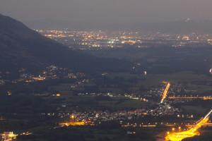 Vista di Torino dalla Sacra San Michele